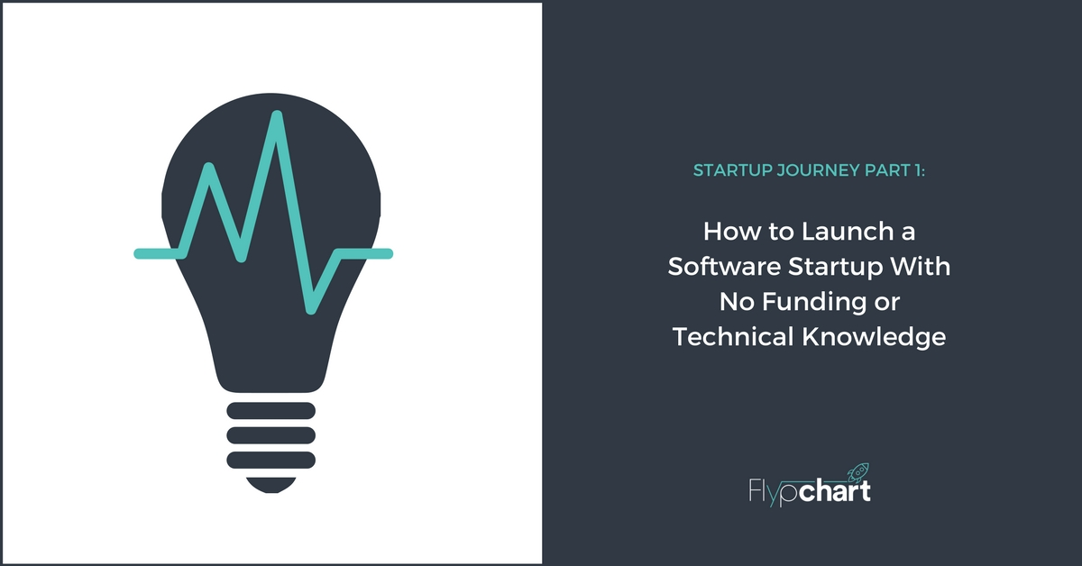 How to Launch a Software Startup With No Funding or Technical Knowledge