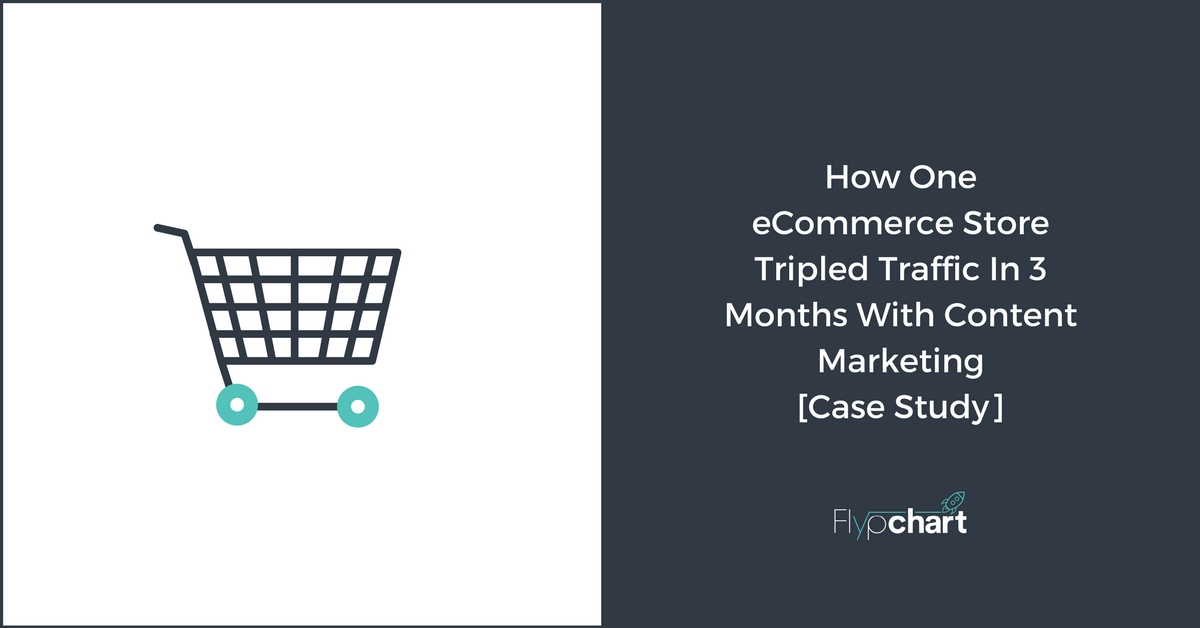 eCommerce Content Marketing Case Study - 3x Traffic in 3 Months