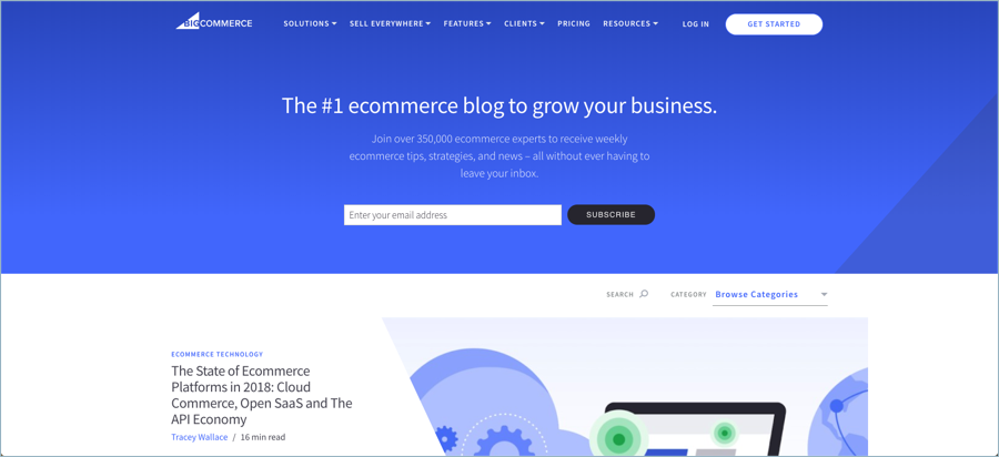 Big Commerce - Best Digital Marketing Blogs