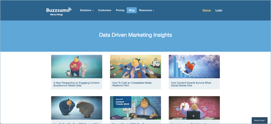 BuzzSumo - Best Digital Marketing Blogs