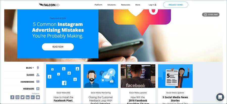 Falcon - Best Digital Marketing Blogs
