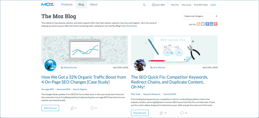 Moz - Best Digital Marketing Blogs