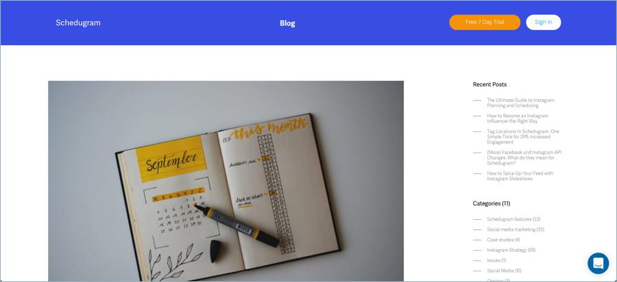 Schedugram - Best Digital Marketing Blogs