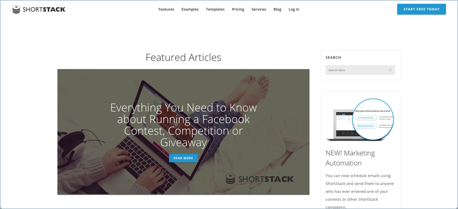 Shortstack - Best Digital Marketing Blogs