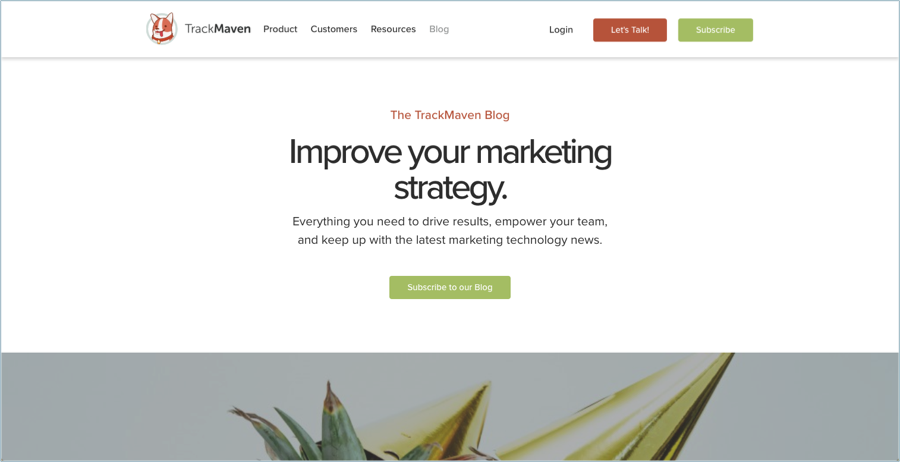 TrackMaven - Best Digital Marketing Blogs