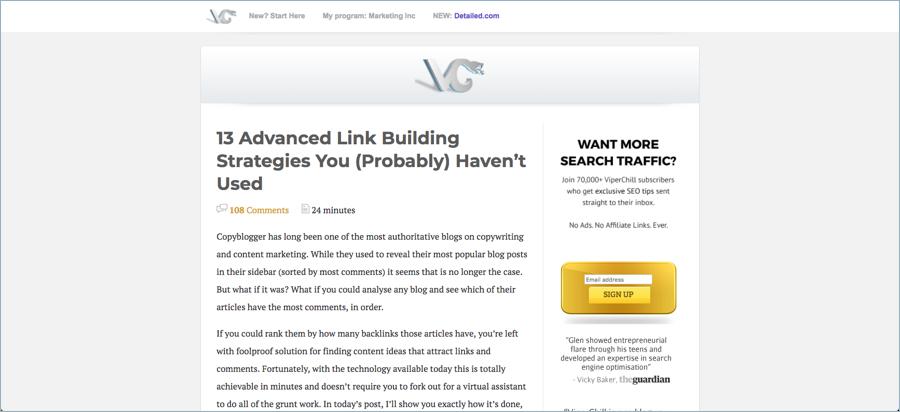 Viperchill - Best Digital Marketing Blogs
