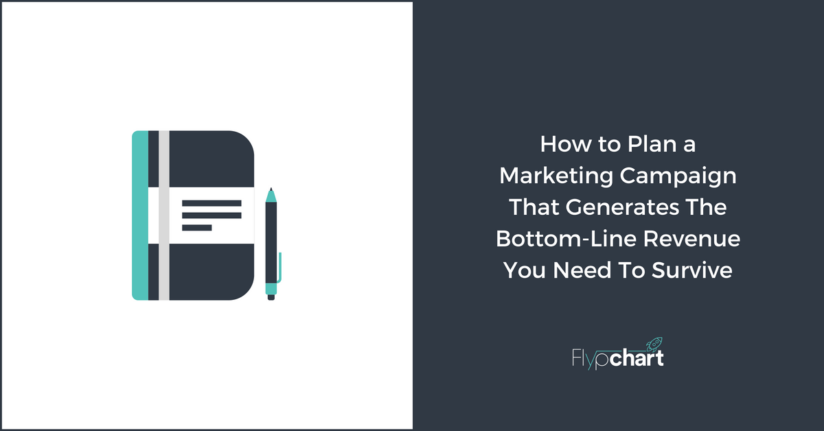 How to Plan a Marketing Campaign That Generates The Bottom-Line Revenue You Need To Survive